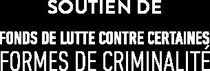 Logo : Fonds de lutte contre certaines formes de criminalités